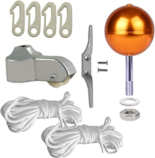 PISSION Flagpole Hardware Repair Kits - 3