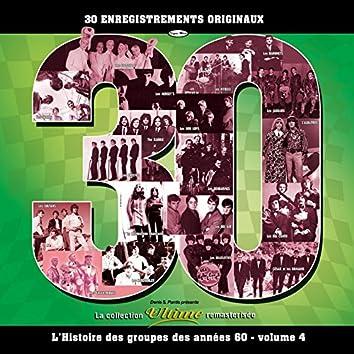 L'histoire des groupes des années 60-volume 4