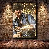 shuimanjinshan Red Dead Redemption 2 Juego Lienzo póster Pared Arte impresión Pintura Papel Tapiz Decorativo Cuadro de Pared para Sala de Estar (Py-421) 50x70cm No Frame