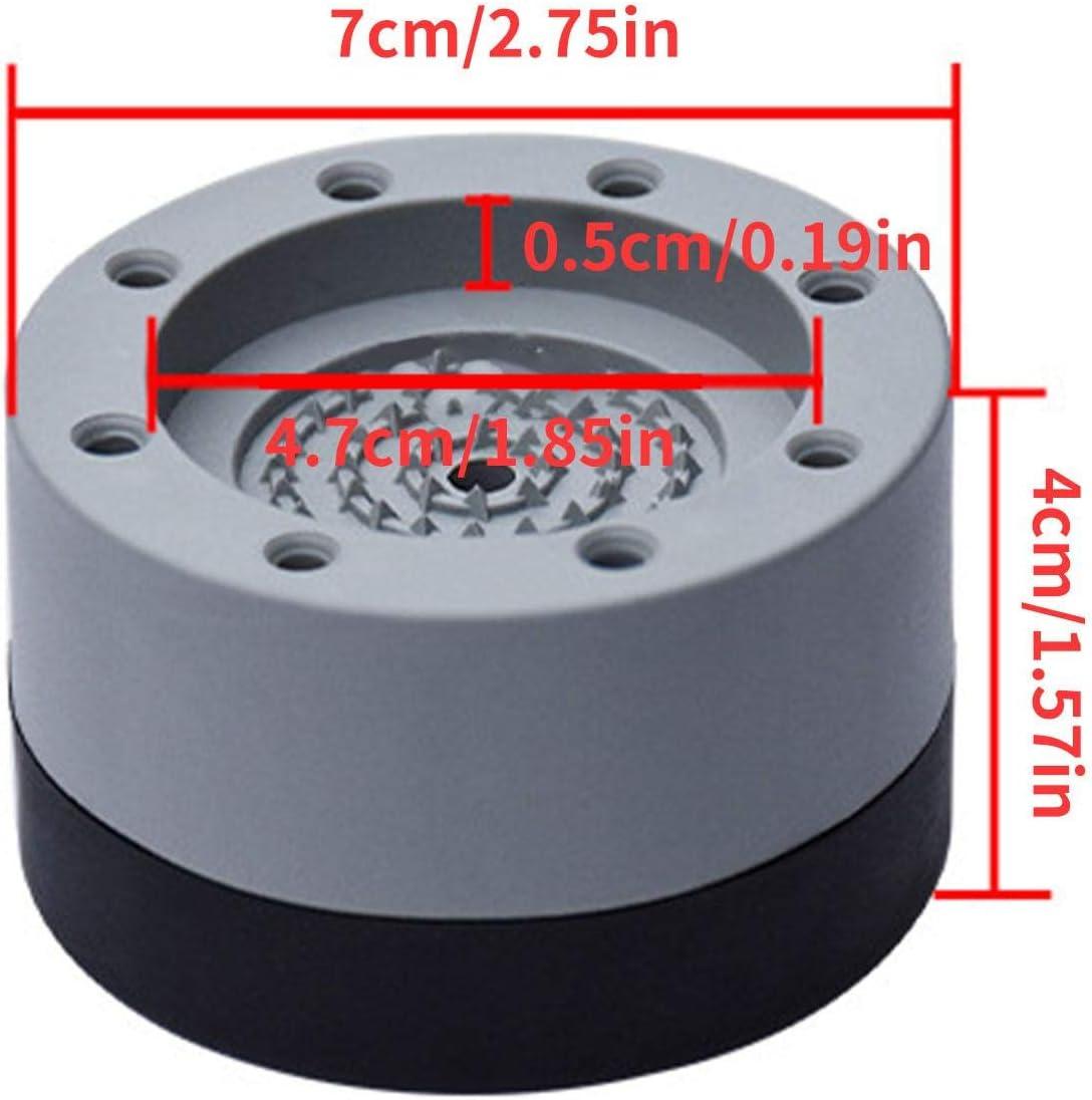 Anti-Vibrations-Gummifu/ßpolster Anti-Rutsch-Fu/ßschutzpolster-Schutzmatten F/ür Alle Waschmaschinentrockner 4 St/ück Waschmaschinen-Fu/ßpolster
