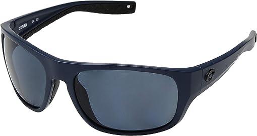 Gray 580P/Matte Midnight Blue Frame