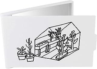 Azeeda Invernadero de Jardín Espejo Compacto / de Bolsillo (CM00012691)