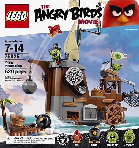 LEGO Angry Birds 75825 Piggy Pirate Ship Building Kit (620 Piece) 5