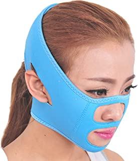 V-gezicht Afslankgordel Ademende bandages Lifting Aanscherpingband Anti-rimpel Verwijderen van dubbele kin
