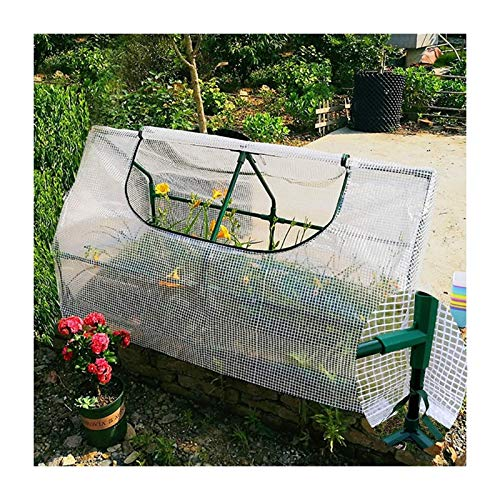 Mini Greenhouse Portable Gardening Plant Flower Shelter, Greenhouse PE Cloth Cover,Anti-UV Small Garden Shed (Size : 180x90x90cm)
