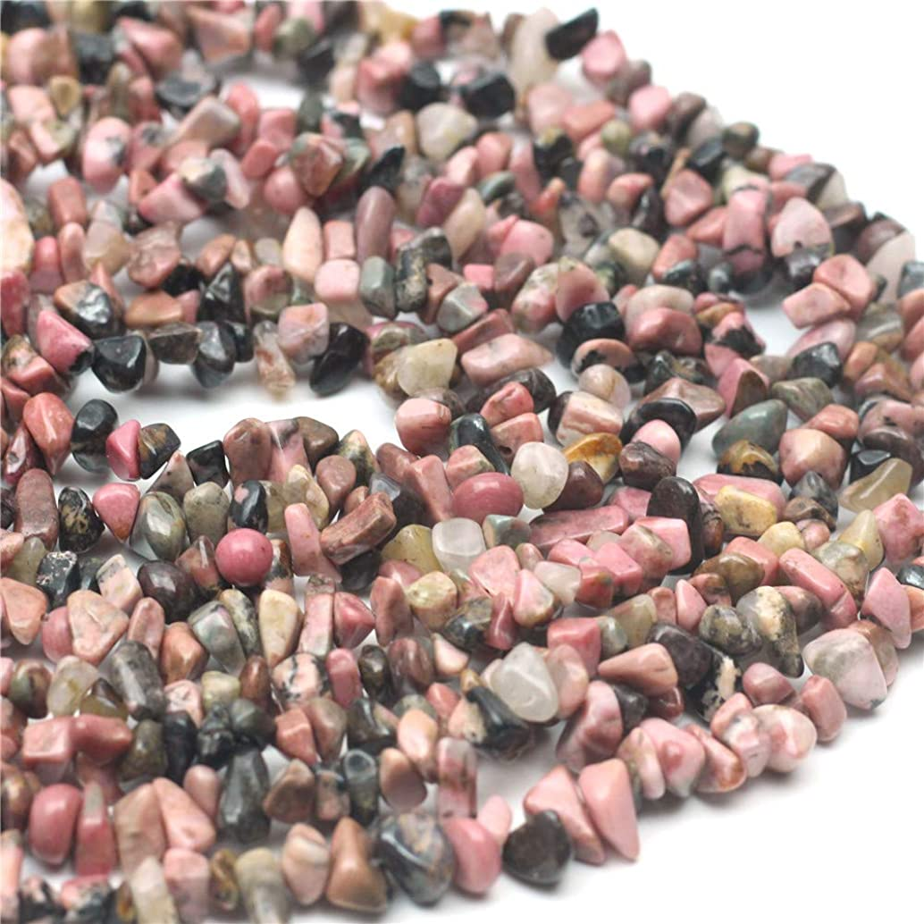 Oameusa 5-7mm Agate Chips Rhodochrosite Agate Chips Agate Beads Gemstone Beads Loose Beads Agate Beads for Jewelry Making 34