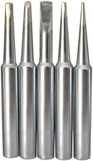 SolderFun Soldering Tips for Weller WLC100,WP25, WP30, WP35 Irons Tips (5pcs)