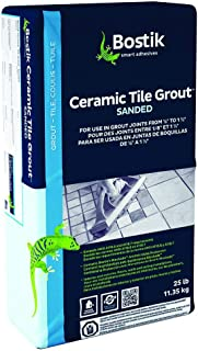 Bostik Sanded Dry Tile Grout 25lb Bag - Various Colors (Misty Gray #144)