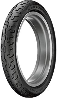Dunlop D401 Front Motorcycle Tire 100/90-19 (57H) Black Wall - Fits: BMW F650 1997-1999