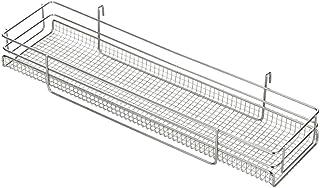 ヨシカワ 栗原はるみ 日本製 フリーラック 43×11.6×7cm グラスも置ける シルバー HK10829