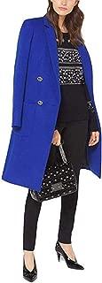 Michael Michael Kors Wool-Blend Officer's Coat