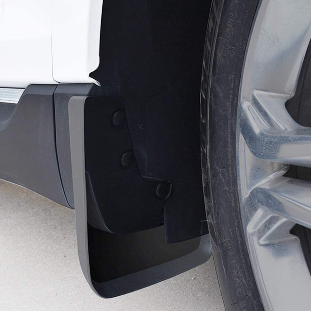NZ-CJ Upgraded Car Mud Flaps Mudguards For Benz Ml300//320 2012-2016 Front Rear Splash Guards Car Fender Styling /& Body Fittings Black 4Pcs