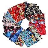 F Fityle 30pcs/Pack Japanische Stil Baumwolle Stoffe
