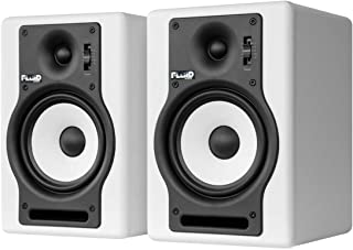 Fluid Audio F5W - Monitores de estudio, color blanco