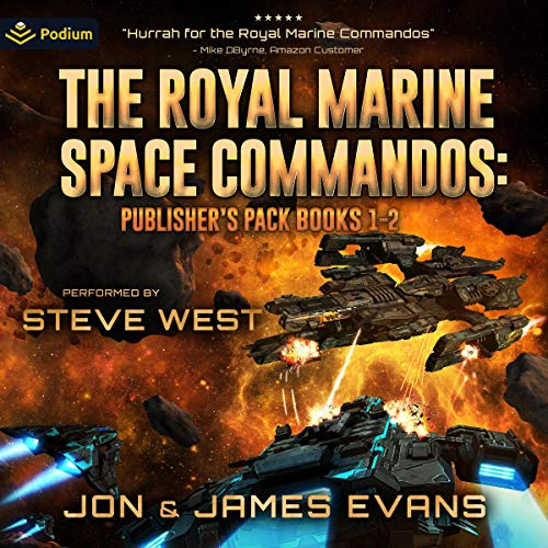 The Royal Marine Space Commandos: Publisher's Pack cover art