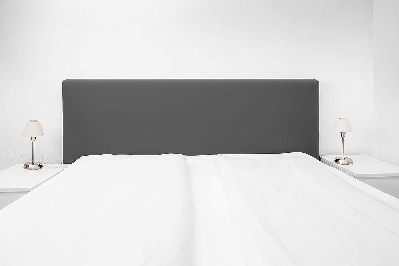 Funda para cama con somier, tamaño universal, 140 – 180 cm, color antracita 51880 – 005 – El original
