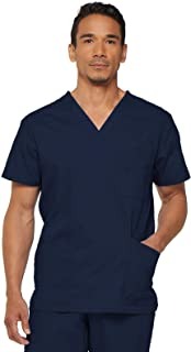 Dickies Men's Chest Pocket Top Medical Scrubs Shirt