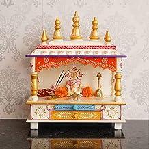 Wood Pooja Mandir, Wall Hang Temple, Floor Temple, Wooden Temple, Hight Quality Wooden Temple