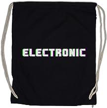 Urban Backwoods Electronic Glitch Sporttas Gym Zak Sportzak Rugzak
