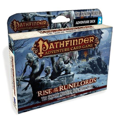 Paizo PAI06002 - Kartenspiele, Pathfinder, Skinsaw Murders Adventure Deck