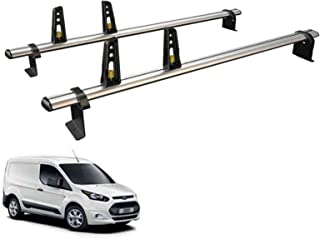 Van Guard Ulti Bar 2 Roof Bars and 4 Load Stops for Suzuki Carry Van 99-06