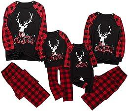 Ensemble de pyjama de Noël avec motif Elfe, cerf,