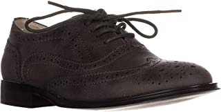 Wanted Babe Lace Up Oxfords, Olive