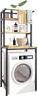 U HOOME Bathroom Space Saver,Over The Toliet,The Drum Washing Machine Rack,Bathroom Corner Stand Storage Organizer Accesso...