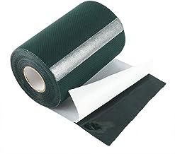 BOTTLEWISE Cinta de Césped Artificial 15CM * 10M Hierba Adhesiva Doble de costura Cara Pegamento Verde Conexión