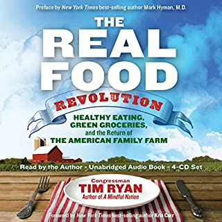 The Real Food Revolution audiobook cover art