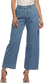 Best high waisted wide pants Reviews