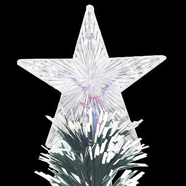 vidaXL Arbre de Noël Artificiel et Support LED 180 cm 220 Branches Sapin Décor