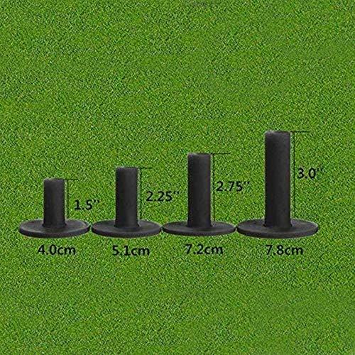 FINGER TEN Tres Cojines de Golf de Caucho, 3/4 Paquetes, Mezclados o del Mismo tamaño, 1,5 Pulgadas 2,25 Pulgadas 2,75...