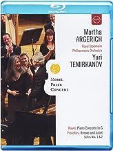 ARGERICH: Nobel Prize Concert - Ravel, Prokofieff, Schostakowitsch [Blu-ray] [Alemania]