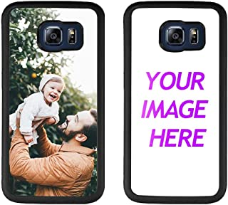 Customized Case for Samsung Galaxy S6 Edge Personalized Custom Picture Phone Case Customizable Slim Soft and Hard Tire Shockproof Protective Phone Cover Case Make Your Own Phone Case