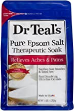 Dr Teal's Therapeutic Solutions Pure Epsom Salt Soaking Solution 6 Lb Bag