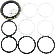 PC400-6 Track Adjuster Oil Seal Kit - SINOCMP Seal Kits for Komatsu PC400-6 PC400LC-6 Excavator Wearing Parts, 3 Month Warranty