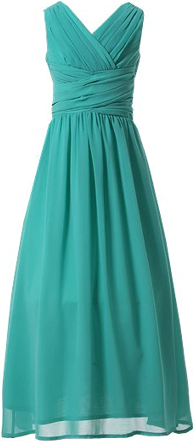 Happy Seasonal Wrap Introduction Rose Juniors Long Bridesmaid Dress Shipping included Party Gi Dresses Flower