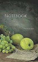 Notebook: fruits grapes green vase table indoor digital door high breakfast survival skills crazy cast