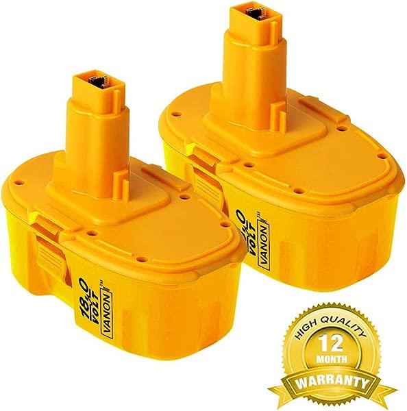 2 包 3 0Ah 18V DC9096 替换 Dewalt 18V XRP 电池,适用于 Dewalt 388683 12 651034 01 DE9039 DE9095 DE9096 DE9098 DW9096 DW9095 DW9098