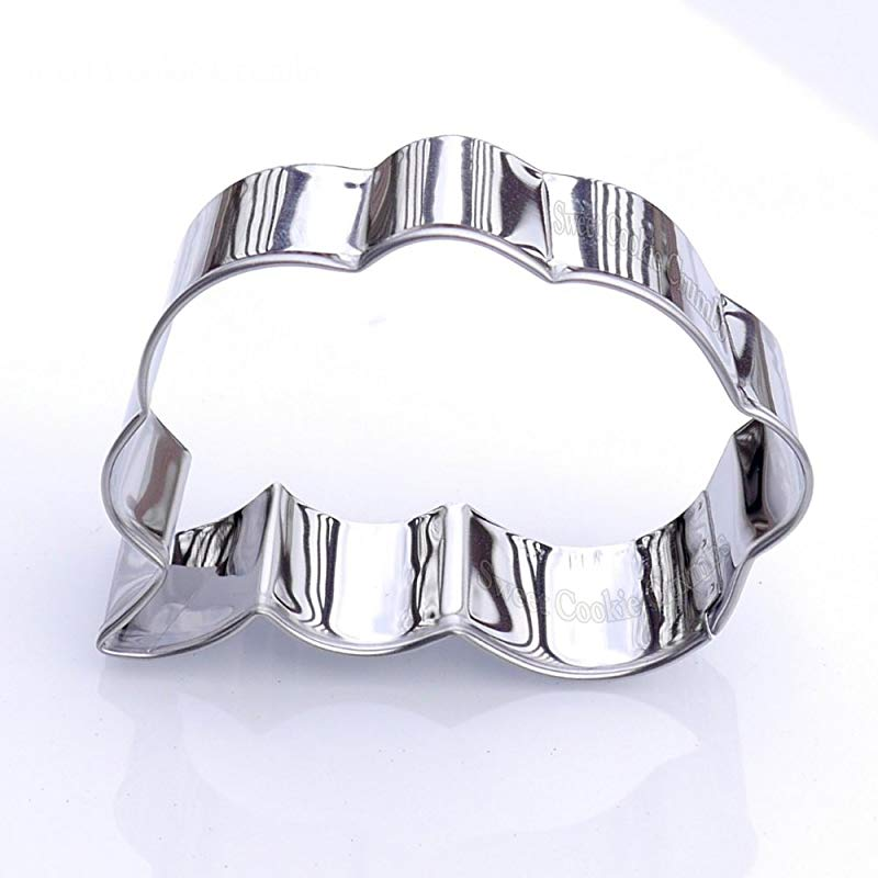 Dialog Cloud Cookie Cutter Stainless Steel