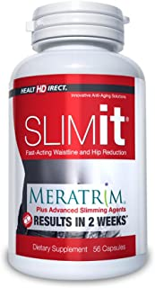 SLIMit with Meratrim Fat Loss Weight Management Supplement (800 mg, 56 Gelatin Capsules) from Health Direct