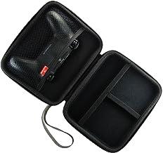 Pandaren® Caso duro bolsa de transporte airform para el Mando PS4 y otros accesorios pequeños (negro)