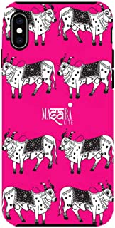 Macmerise IPCIXMTMS1226 Masaba Cow Print - Tough Case for iPhone XS Max - Multicolor (Pack of1)