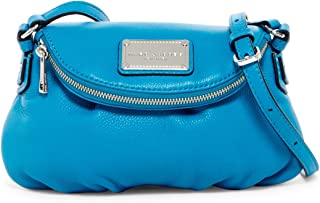 Marc by Marc Jacobs Mini Natasha Leather Handbag (Turquoise)