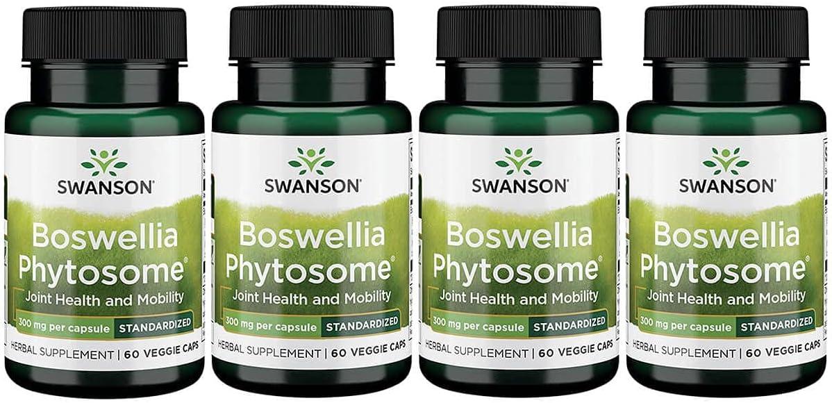 Swanson NEW before List price selling ☆ Standardized Boswellia Phytosome 300 C Veg Milligrams 60