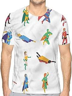 t Shirt Superhero,Powerful Brave Female Printed t Shirt