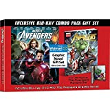 Marvel's The Avengers Exclusive Blu-ray / DVD Combo Pack Gift Set Includes Graphic Novel