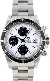 [チューダー]腕時計 TUDOR 79170 B番 クロノタイム ホワイト文字盤/ブラックインダイアル ロレックスリューズ[中古品] [並行輸入品]