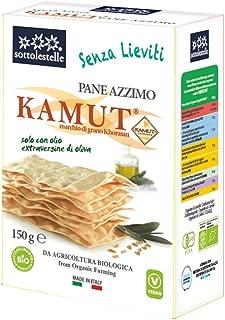 Pane di grano khorasan KAMUT® Azzimo 150g BIO: Amazon.es ...